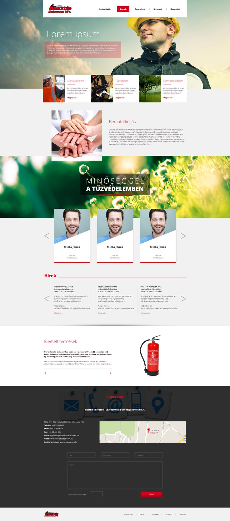 Hesztia-Debrecen webdesign, már fut ;)