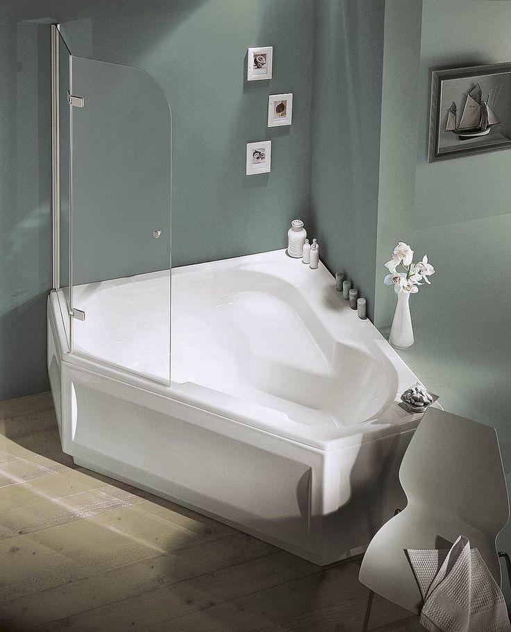 1000 id es propos de baignoire d angle douche sur pinterest douche en coin wc d angle et for Cometagere angle baignoire