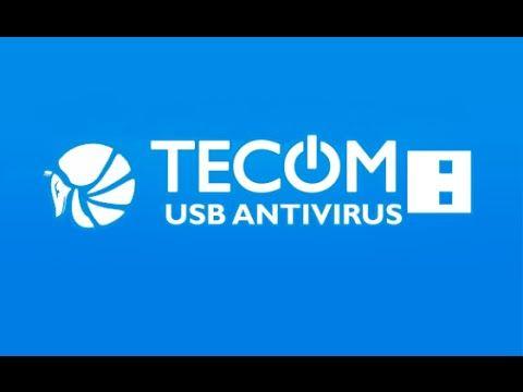 Tecóm USB Antivirus. Previene virus, accesos directos y mas.