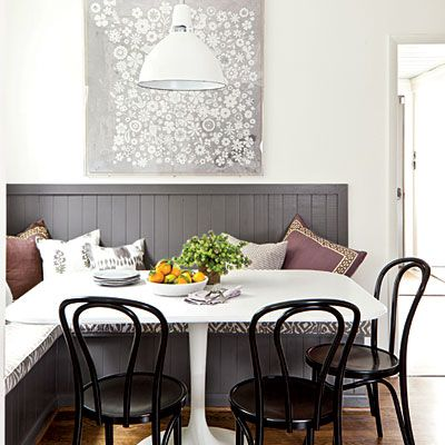 How to create an inviting breakfast nook in your #kitchen