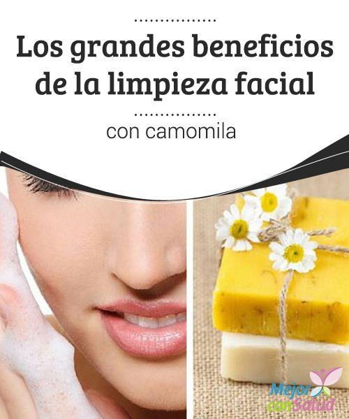 Los grandes beneficios de la limpieza facial con camomila  Antes de aplicarla por todo el rostro conviene hacer una prueba en una zona pequeña paras comprobar que no sufrimos reacciones alérgicas. Si experimentamos picores, deberemos optar por otro remedio
