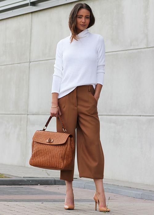 вязаная белая водолазка, осенний гардероб 2015, базовый гардероб на осень, уличный стиль осень, модные вещи сезона, модные тренды тенденции осень 2015, стильный образ на каждый день, street style, street fashion, women's knitwear, I love knitwear (фото 12)