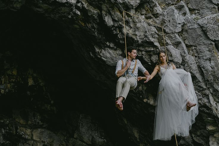 The Ultimate Trust #afterwedding #climbers Spent the last evening on a crag You can find more about their passion here: