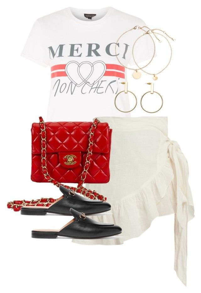 """Untitled #4189"" by theeuropeancloset on Polyvore featuring Topshop, Étoile Isabel Marant and Gucci"