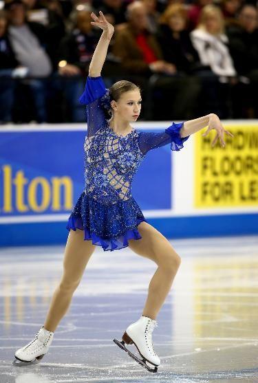 Polina Edmunds- 4th at 2015 U.S. Champs