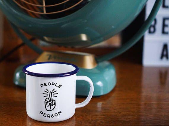 People Person Anti-Social Coffee Mug - Rude Mug- Funny Coffee Mug - Profanity Mug