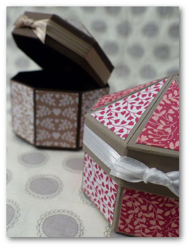 Coul'Heure Papier: Boîte Carrousel [Tutoriel]