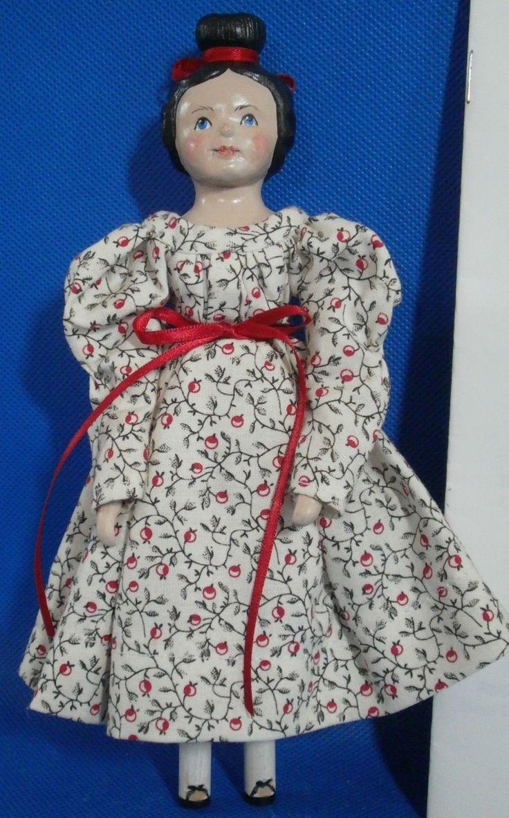 Hitty Wooden Doll for Norfolk Doll Club 2006 | eBay