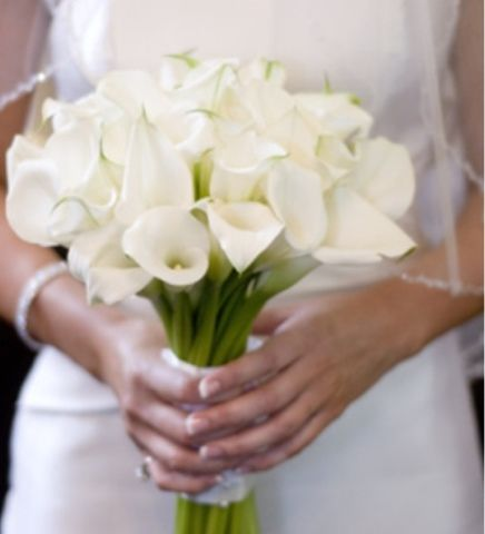 Calla Lily Wedding Boquet