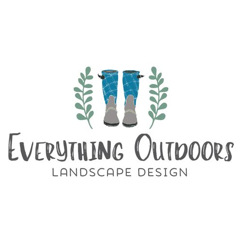 Garden Boots Logo   Customized With Your Business Name