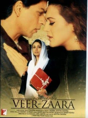 Movie Info : IMDB rating : 7.9 Genre : Drama, Musical, Romance Movie Name :Veer Zaara 2004 Hindi Movie Download BRRip 720p 1.2GB Size : 720p (1.2 GB) Language : Hindi Directed by : Yash Chopra Starring : Shah Rukh Khan, Preity Zinta, Rani Mukerji Description :Veer-Zaara is a 2004 Indian romantic drama film directed by Yash Chopra under the Yash Raj Films banner. The film stars Shah Rukh Khan and Preity Zinta in the leading roles, with Rani Mukerji, Manoj Bajpayee, Kirron Kher, Divya Dutta…