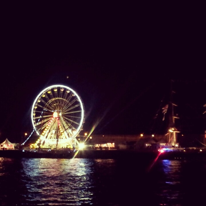 #Rouen at #night #France #armada #granderoue #landscape #laSeine