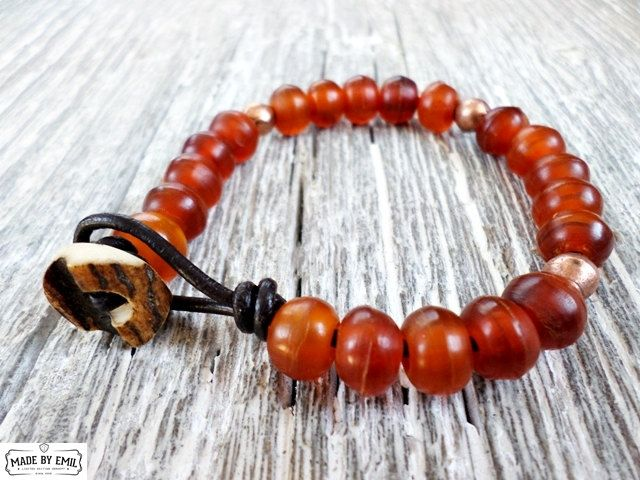 Natural yak bone prayer beads Limited Edition by EmilDesign on Etsy