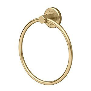 Gatco 4262 Latitude II Towel Ring, Matte Brass - - Amazon.com