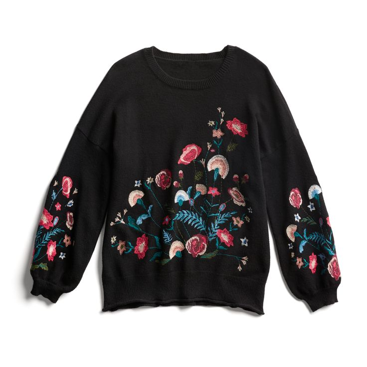 Stitch Fix Fall Stylist Picks: Floral embroidered sweater
