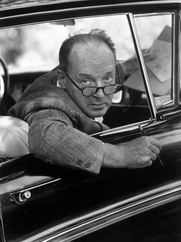 Author Vladimir Nabokov Looking Out Car Window He Likes To Work In  Writers Authors English Music Essay Introduction Paragraph Vladimir  Nabokov Braveheart Business Plan Writers Dublin also Short English Essays For Students  English Example Essay