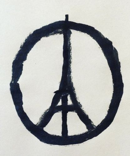 Celebrities are reaching out to offer their well wishes following the Paris attacks