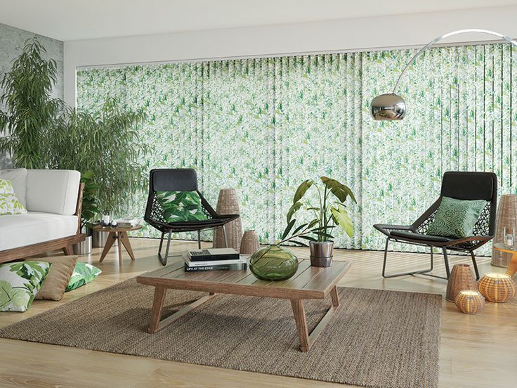 This striking look is great for creating a green haven in your conservatory