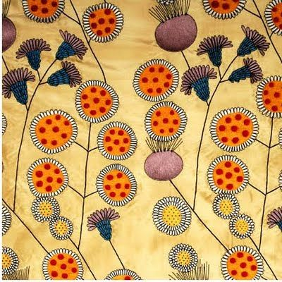 Josef Frank, Swedish-Austrian designer, most commonly known for his textiles,but in fact was also an architect, furniture designer,  glass ware, lighting, and metalwork- artist.