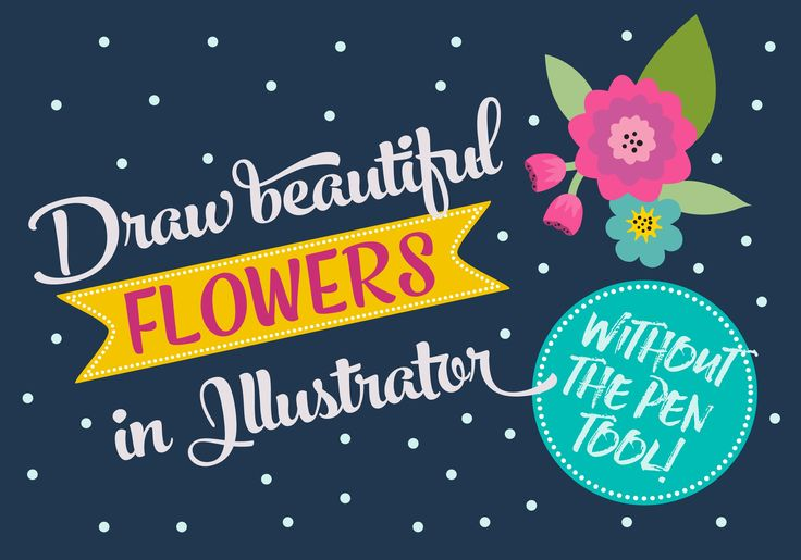 In this class, you will learn how to draw flowers in Illustrator using basic shapes and tools in Illustrator (no pen or pencil tool required!) and give them a hand drawn effect. This class serves as a basic introduction to digital illustration in Adobe Illustrator for those with no Illustrator or art experience. It is also for those who have Basic/Intermediate Illustrator skills and want to explore tools and effects...