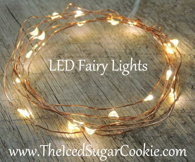 Warm White On Copper Wire LED Battery Operated Party Lights ****THESE LIGHTS RUN ON BATTERIES AND WILL LAST ABOUT 18-24 HOURS.******* LED Fairy Lights are great for adding to room decor since LED bulb