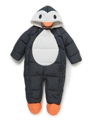 Combinaison bebe pingouin (9/12 mois)
