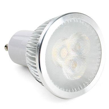 GU10 6W 550-600LM 5500-6500K Dimbar LED-spot med Naturligt Vitt Ljus (110-240V) - SEK Kr. 42