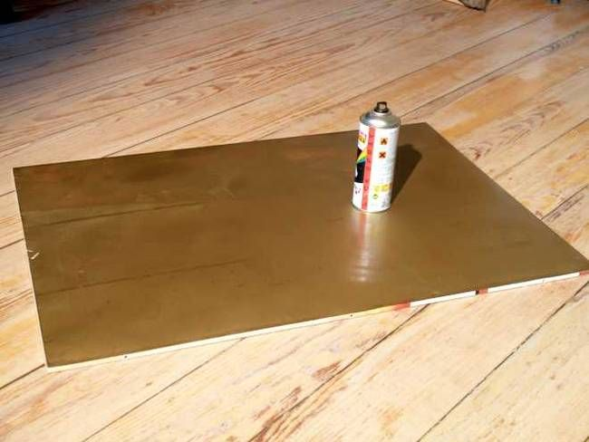 How to make a golden reflector