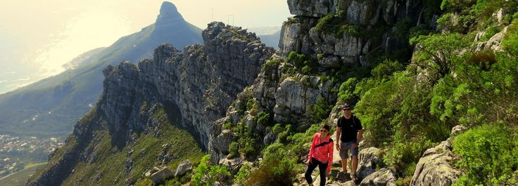Hike table mountain! (No guide though)