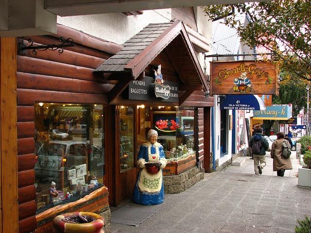 Abuela Goye. Chocolateria en Bariloche Argentina