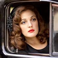 Drew is believable as a 40′s bombshell. . . wavy hair, red lips ...Hairstyles, Vintage Hair Style, Drewbarrymore, 40S Style, Makeup, Beautiful, Red Lips, Drew Barrymore, Grey Gardens