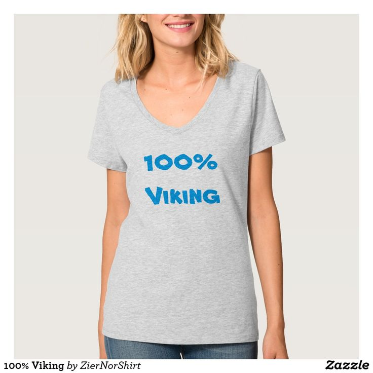 Show to the world with this clothing that you are 100% viking. You can also customize this product to change the text, font type and text color.