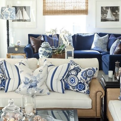 40 best Navy couch images on Pinterest | Navy couch, Living room ...