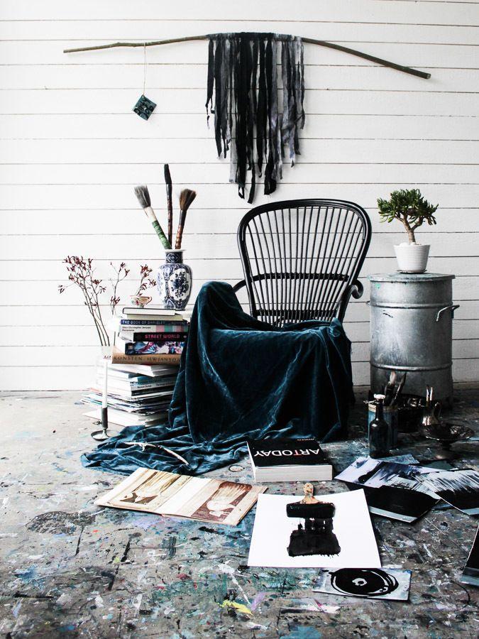 Min atelje - Lisa Burenius