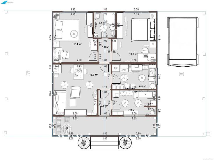 «Планоплан» — новый 3D планировщик, позволяющий создавать в режиме онлайн реалистичные проекты квартир и интерьеров; программа бесплатная, работает в браузере и не требует установки.