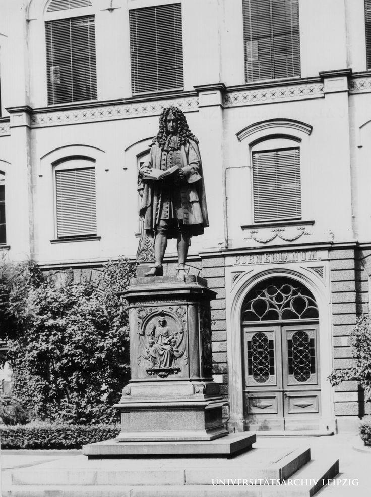 Gottfried Wilhelm Leibnizs Alter Ego  Leibniz Jahr 2016  Universitätsarchiv Leipzig  Tradition und Moderne