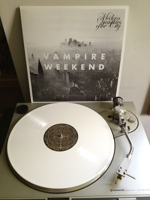 Beautiful record! The white is so cool. Plus I love this band so I may have to buy this for myself.