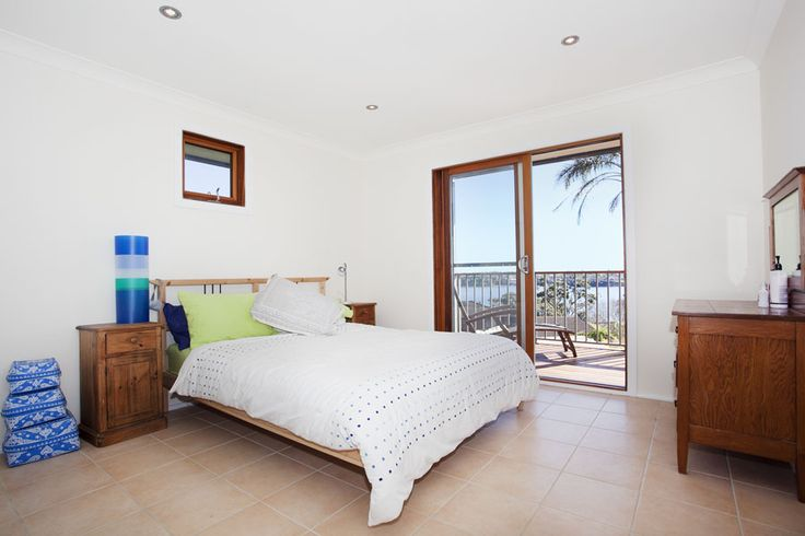 Master bedroom from- 'Its all to do with the Views' holiday home call 9527-7733 bundeenarealestate.com.au
