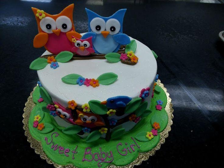 Sunshine Bakery Owl Cake