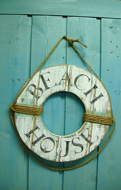 We will have our own one day... Until then our guest room will be beach themed