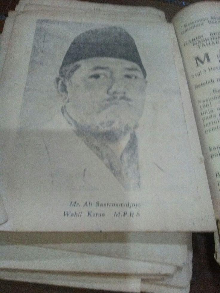 Mr Ali sastroamidjojo#wakil ketua MPRS