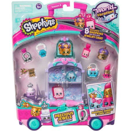 Shopkins Season 8 Europe Themed Pack, Style 2, Assorted