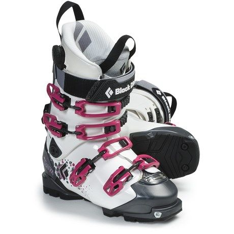 Black Diamond Equipment Shiva AT Ski Boots - Dynafit Compatible (For Women) in White