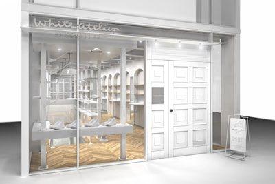 コンバース(CONVERSE)がカスタマイズスペースを併設した国内初のシューズ直営店、「ホワイトアトリエ バイ コンバース(White atlie BY CONBVERSE)」を2015年7月17日(...