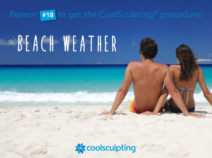 Don't let insecurities hold you back from enjoying the sun, schedule a CoolSculpting consultation today! http://www.coolsculpting.com/find-a-center/ #CoolSculpting #SpringBreak