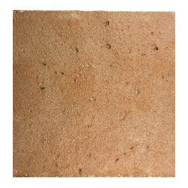 Terre cuite Terre d'Histoire Moulée à la main, la gamme Terre d'Histoire évoque la mémoire du temps. Ses nuances rouge, sable et rosé trouvent naturellement leur place dans toute type d'architecture. 20x20 cm