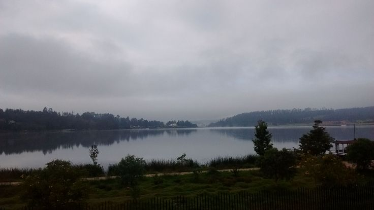 Lake Sochagota, Paipa, Boyaca, Colombia, dawn