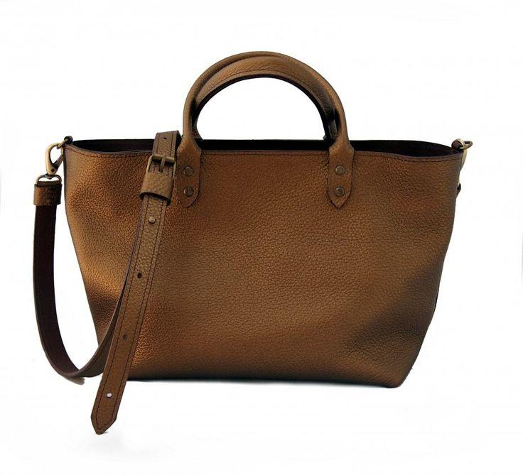 Hekate - mała skórzana torebka na suwak (sprzedawca: Zuza Kilanowicz), do kupienia w DecoBazaar.com