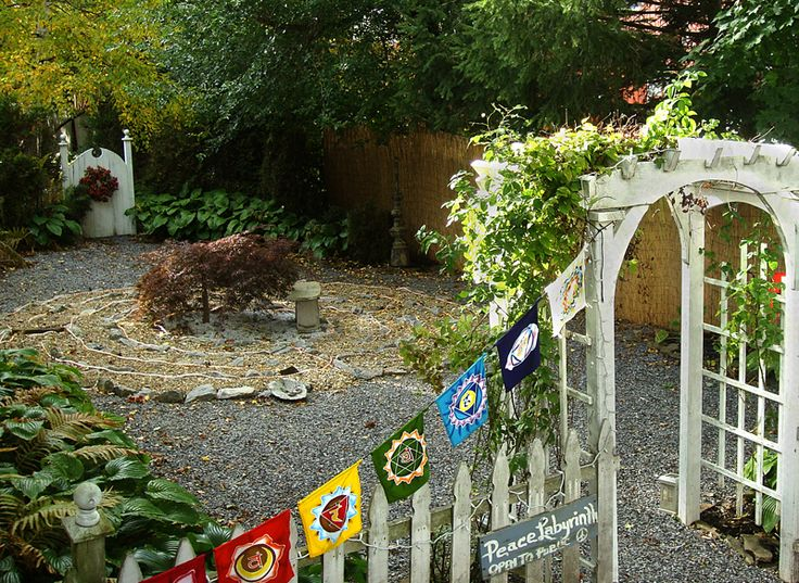 You Can Create A Small Labyrinth In Your Backyard. Http://www. Meditation  GardenDiamond ...