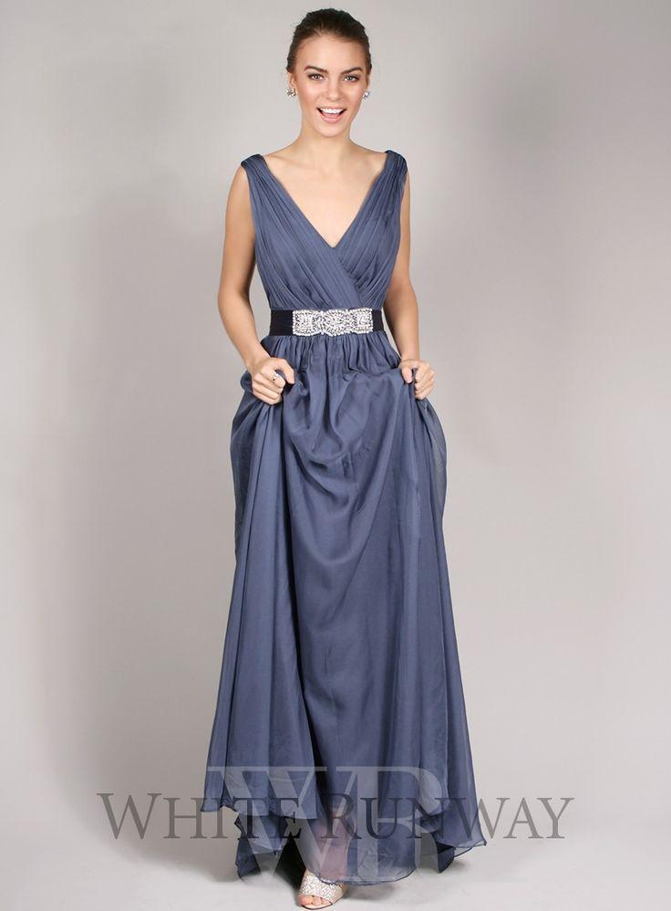 Jadore black dress blue